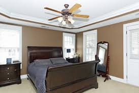 Bedroom Brown Ceiling Fan With Light For Layout Modern Best Fans
