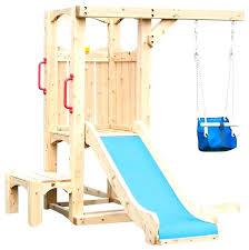 toddler swing for swing set
