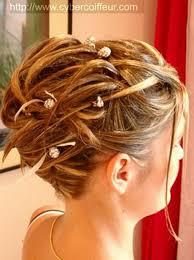 Génial Chignons Mariage Cheveux Mi Longs Chignon Cheveux
