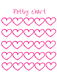 Potty Chart Free Potty Chart Free Download