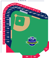 5 3 Field Toledo Ohio Seating Chart Durham Bulls Vs Toledo Mud Hens Tall Pines Baseball Folio
