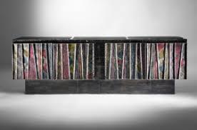Paul Evans heavy metal artist of mid century furniture