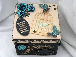 Ideas For Decorating A Box Memory Box Decorating Ideas to decorate a box for her to fill 1