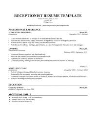 Best Example Of A Resume Resume Example Resumes Samples Resumes