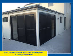 aluminium stacking door image