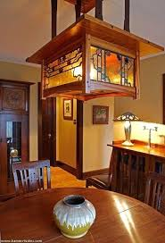 craftsman lighting dining room best home decor arts crafts images on with regard to contemporary household