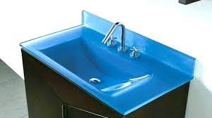 glass bathroom countertops bathroom for