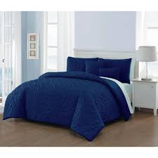 avondale manor del ray 9 piece navy and light blue king comforter set dlr9cskingghnb the home depot