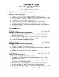 Resume Templates Inventoryerk Examples Job Description Control