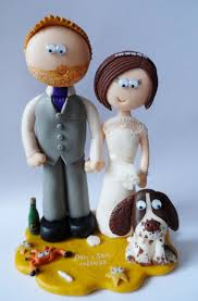Wedding Cakes Wedding Cake Toppers With Pets Cartoon Character