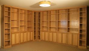 Oak To White Cabinets Custom White Oak Cabinets And Bookcases By Sjk Woodcraft Design