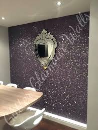 silver glitter wallpaper bedroom metal feature wall in kitchen dining area silver glitter wallpaper room ideas