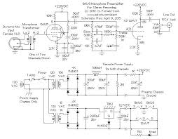 vacuum tube stereo microphone preamp vacuum tube mic preamp schematic