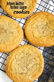 browned er brown sugar cookie