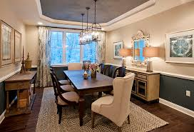 dining room and office. By Pulling Away The Chairs And Covering Table, You Can Convert Your Formal Dining Room Into A Casual Buffet. Office