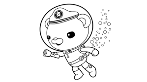 Small Picture KidscolouringpagesorgPrint Download Octonauts Captain