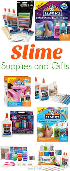 the ultimate slime supplies and slime gift ideas slime recipes how to make slime