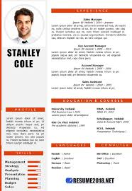 Resume Format 2018 Mesmerizing Combination Resume Format 28 Resume 28
