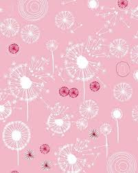 Saffron Craig Fields Dandelions Pink 1 yard by cedarhousefabrics |  Dandelion designs, Rose illustration, Dandelion wish