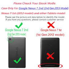 Bao da máy tính bảng PU có thể làm giá đứng cho ASUS Google Nexus 7 FHD thế  hệ thứ 2 giảm chỉ còn 157,894 đ