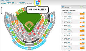 Dodger Stadium Seating Chart 2018 33 Explanatory Dodgers Stadium Map
