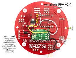 archive adding bma020 bosch acc to a warthox fpv 2 0