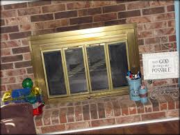 updating your fireplace without touching your brick
