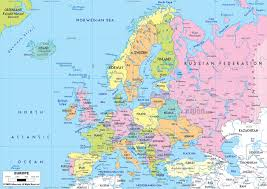 maps of europe map of europe in english political Russia And Europe Map political map of europe russia and europe map quiz