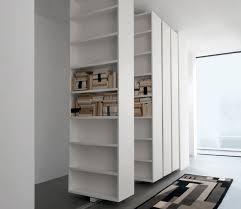rakks bookshelves iss shelving this intricate modern pairs natural wood and black metal for spartan open