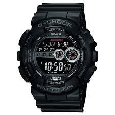amazon in premium watches watches g shock stop watch digital black dial men s watch gd 100 1bdr g310