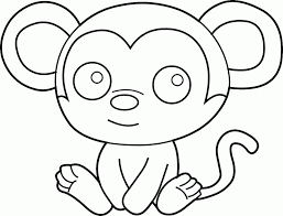 Pictures Of Monkeys For Kids Coloring Home
