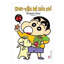 Shin - Cậu Bé Bút Chì - Tập 45 Ebook PDF/EPUB/PRC/MOBI