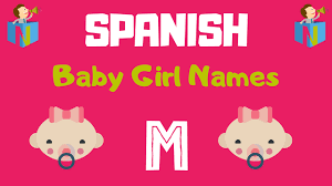 spanish baby names starting with