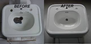 sink repair refinishing