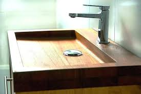 wooden bathroom basin stands wood sink stand dashingly natural sinks in home improvement magnificent image of wood bathroom sink stands wooden basin