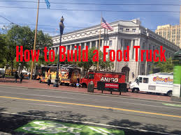 Diy Food Cart Design How To Build A Food Truck Yourself A Simple Guide