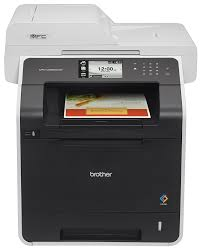 Laser Printer With Color Scanner L L