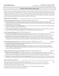 ... Collection of Solutions Sterile Processing Resume Sample On Letter