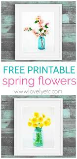 free spring printables cherry blossoms