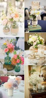 diy flower table decorations for weddings images 40 diy wedding centerpieces ideas your reception tulle 600