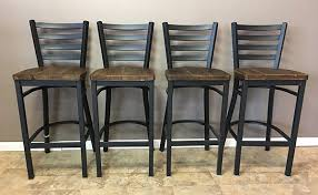 bar chairs with backs. Reclaimed Barn Wood Bar Stool With Black Metal Ladder Back XO Stools Backs Inspirations 18 Chairs