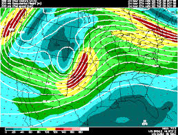 300 Mb Heights And Winds Model Mode