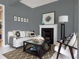 White And Best Gray Paint Colors For Small Space Living Room And White  Couch Set Also Square Glass Coffee Table