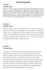 the best short bio examples ideas emmy nominees  bio essay examples database of example biology essays these essays are the work of our professional essay writers and are to use to help your