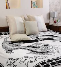 white cotton 90 x 83 inch bedsheet