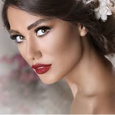 gorgeous persian bride makeup with cute style