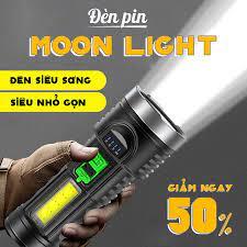 Đèn Pin THÔNG MINH EONMART 2IN1 MOON LIGHT 4 CHế Độ Siêu Sáng ,Siêu NHỏ Gọn  2021 Bền Bỉ [CHÍNH HÃNG] giá cạnh tranh