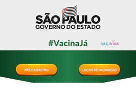Site do governo de SP registra 500 mil pessoas pré-cadastradas para vacina