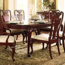 formal dining table drew cherry grove oval leg formal dining table in cherry finish formal dining