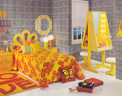 Seventeen Bedroom Gold Country Girls Bright And Colorful 70s Bedrooms Featuring